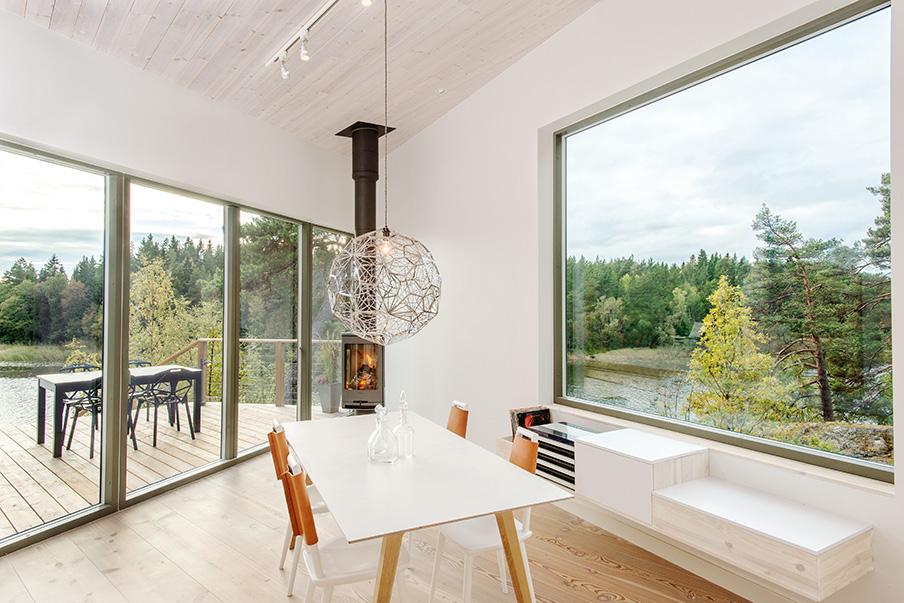 Private house, Uppland, Sweden. Architect: habibihaus